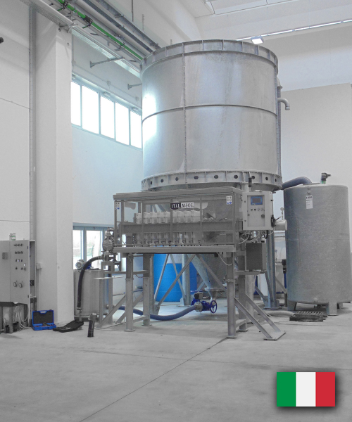 water purification plant - marble industry germany