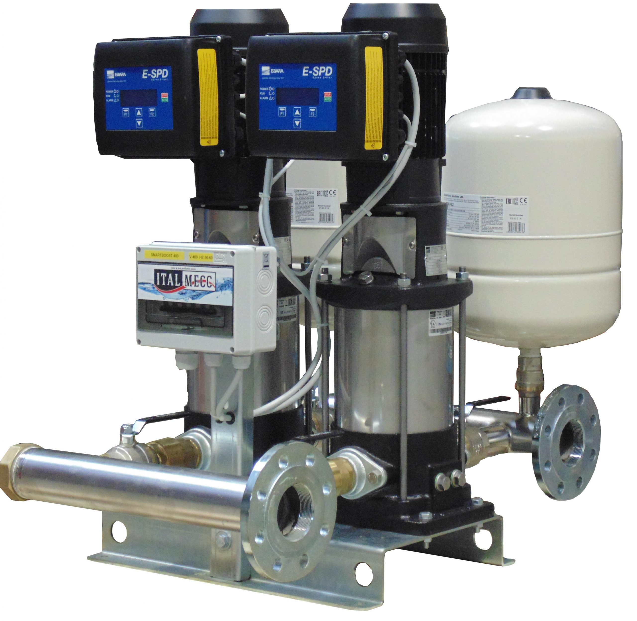 Smat Booster pumps with inverter technology
