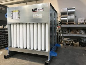 Dry Dust Collector Customized by Italmecc
