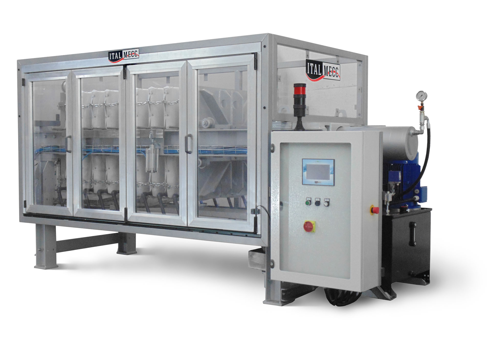 filter-press for marble industry water recycling