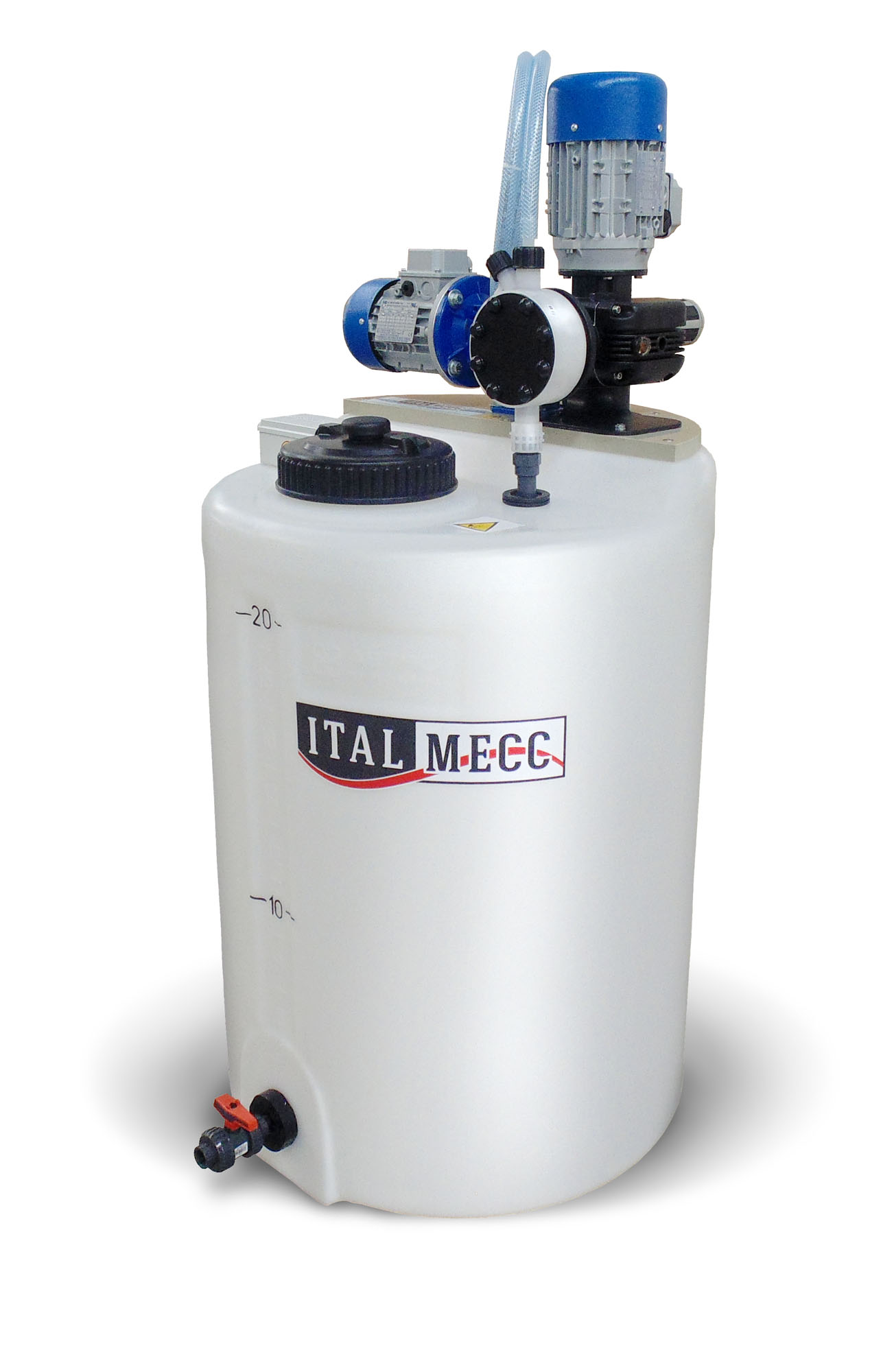 semi-automatic flocculant dosing station - marble industry - water filtration ITALMECC