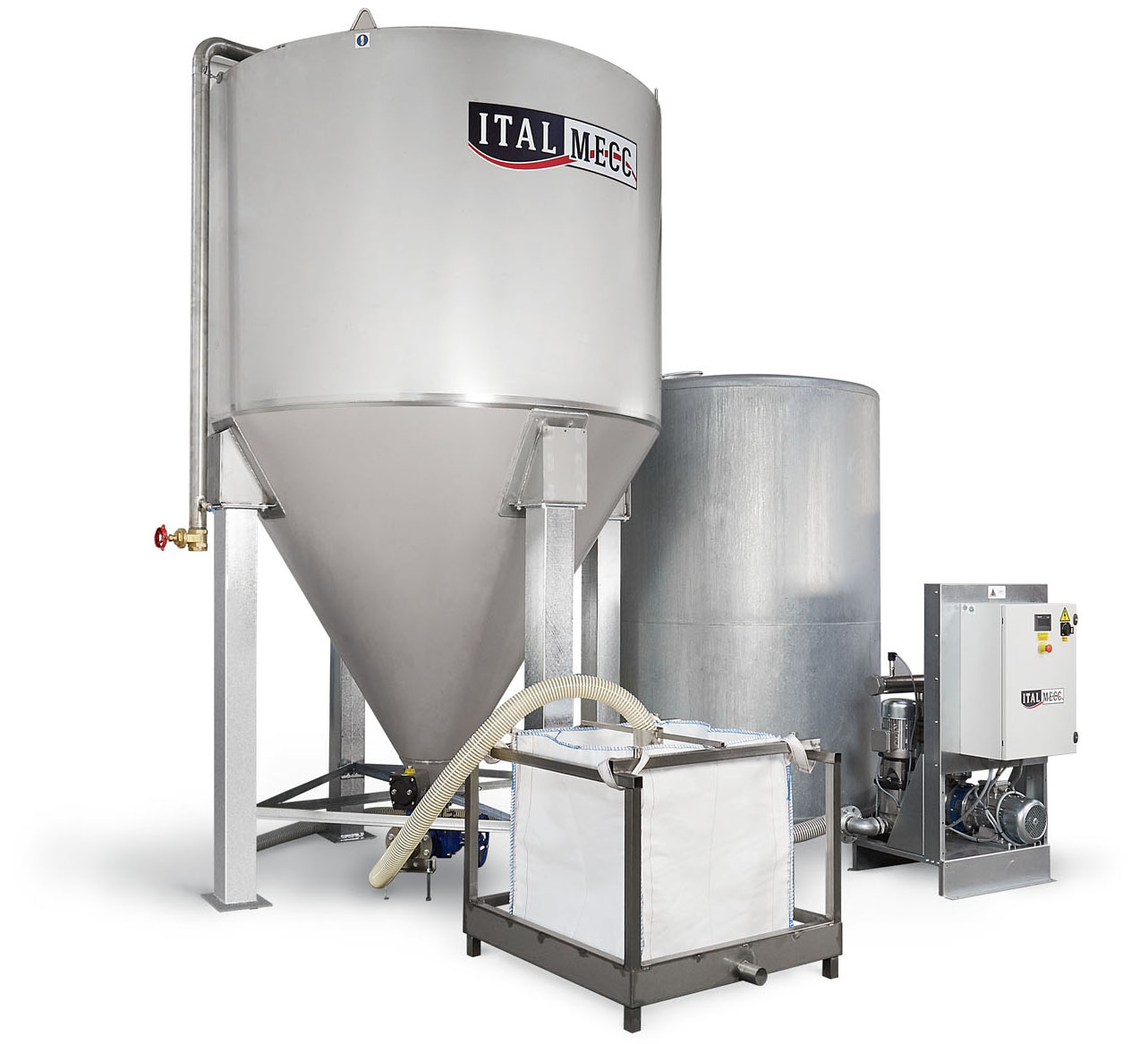 for marble industry - standard water clarifier silo C series - Italmecc - water filtration