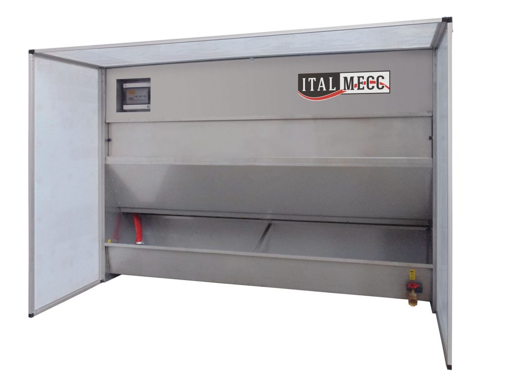 water dust collector - ITALMECC - marble industry